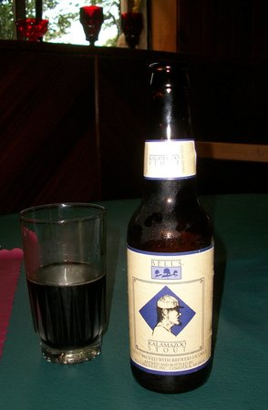 The Brownstone Inn: Bell's Kalamazoo Stout - one of the many beers available