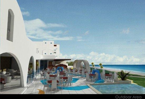 Thunderbird Resorts Poro Point: Poro Veranda Area