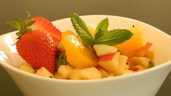 La Fourchette Gourmande : salade de fruits frais