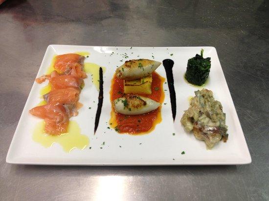 Leone Bianco : Degustazione antipasti mare