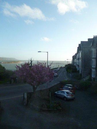 Lawrenny Lodge: Sea view