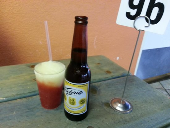 Las Palapas: tell me this doesn't look great to drink!!