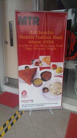 MTR Restaurant : MTR Singapore