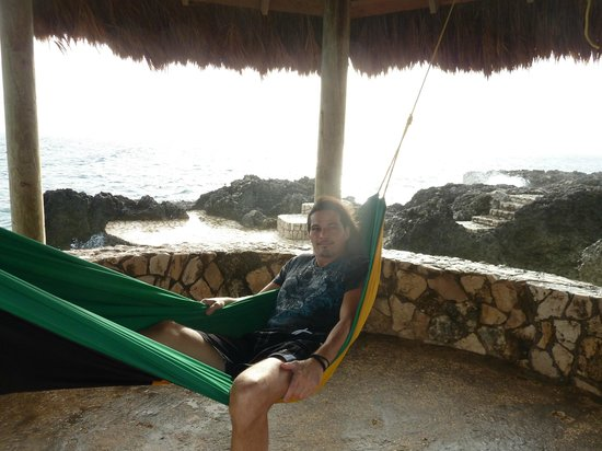 Tensing Pen Resort: hammocks all around