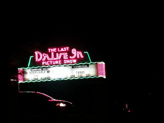 The Last Drive-In Picture Show: Left after the first movie