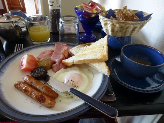 Copper Beech Bed & Breakfast : 朝食は素晴らしい