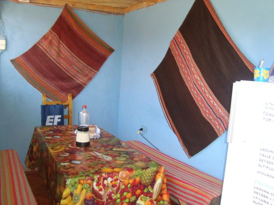 Hostal Tuyasto: cozinha
