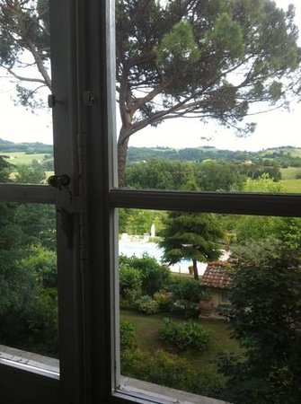 Relais Villa Al Vento: вид из окна