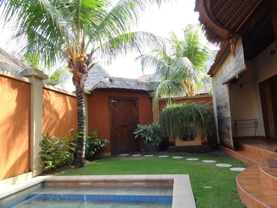 Bali Alizee Villas: Pool with garden