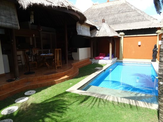 Bali Alizee Villas : Pool with bale