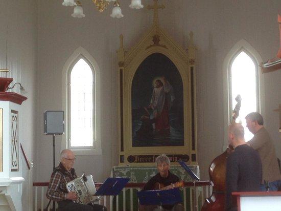 Honningsvag Church: Interior of Honningsvaag Church
