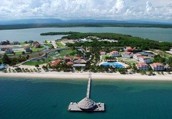 The Placencia Hotel and Residences: Aeriel View