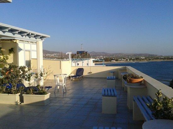 Hotel Kymata: terrazzo fantastico