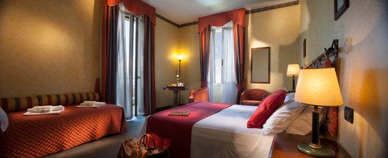 Hotel Benaco : Camera Quadrupla