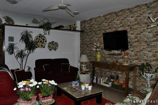 Portal dos Borbas: Sala de estar