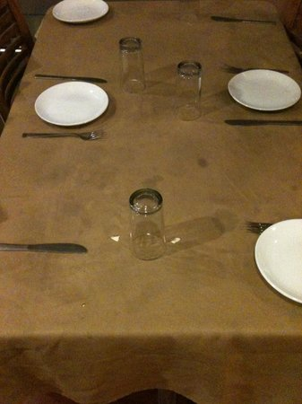 Hotel Ok International : Tisch 2