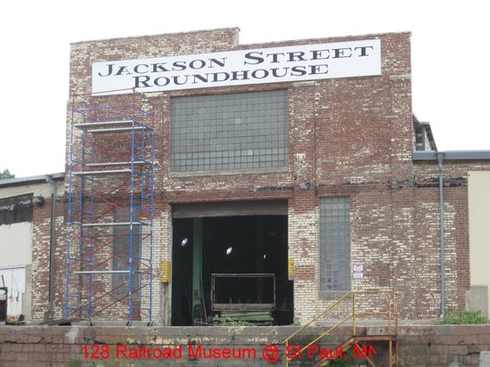 Jackson Street Roundhouse Facade