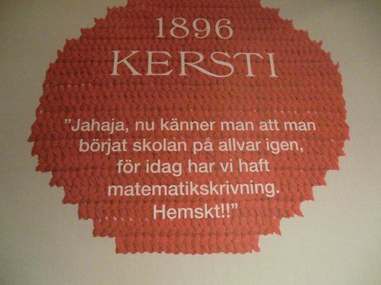 """Carl Larsson-garden: Et av barnas hjertesukk på """"tilleggsutstillingen"""" på Kvarnen"""