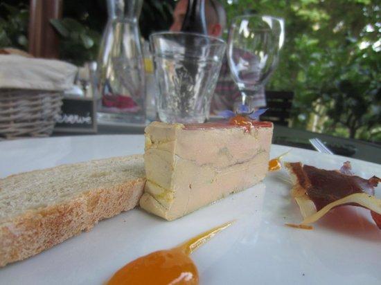Relais Sainte Anne: foie gras