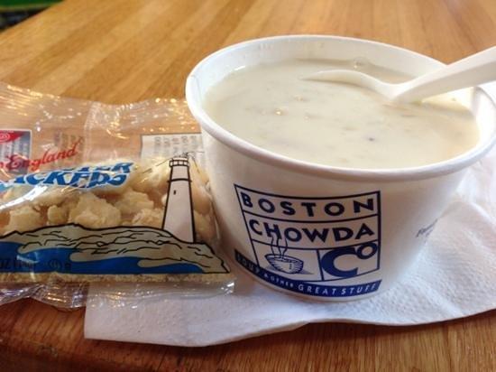 Boston Chowda Co: small cup