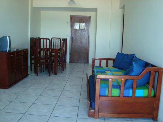 Residencial Porto Principe: Sala e estar/jantar/porta de entrada
