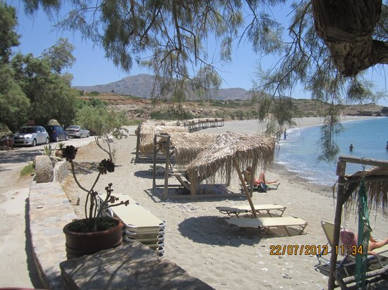 Diaskari: spiaggia