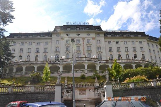 Jachymov, Czech Republic: Radium Palace