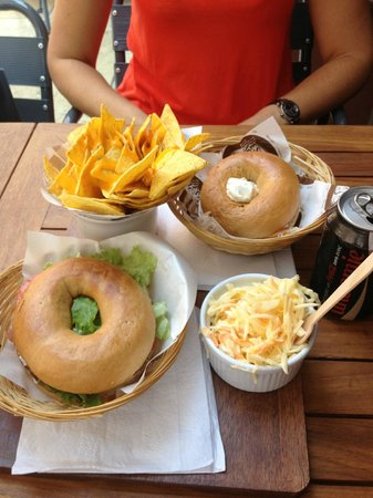 Best Bagels Lyon Merciere: Exemple de menu Bagel