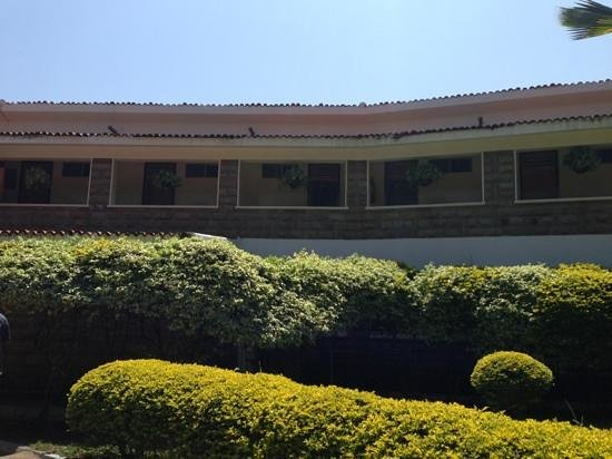 Lake Bogoria Spa Resort : reception rooms