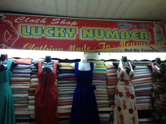 Cloth Shop Lucky Number