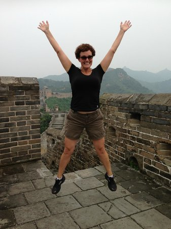 Wild Great Wall Adventure : Happy I made it to the end!