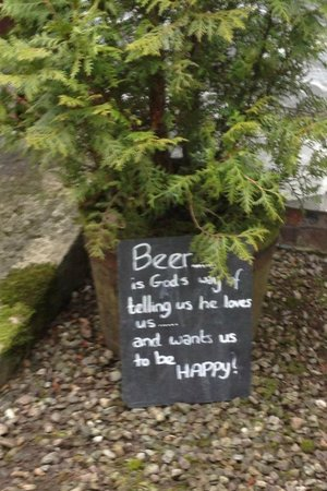 The Byre Inn: Miracles in the Garden