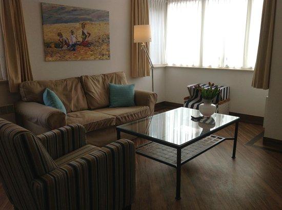 Hotel Kogerstaete 4 sterren : suite 55 m2  voor 2 personen
