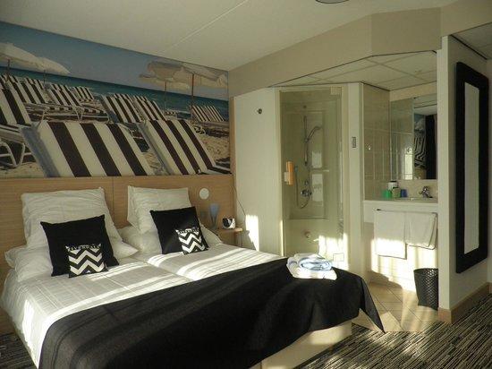 Hotel Kogerstaete 4 sterren : welnesskamer met stoomdouche