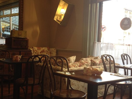 Travelodge Dublin City Centre, Stephens Green Hotel: breakfast room
