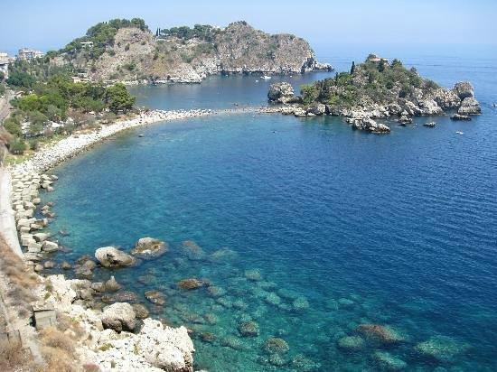 Boat Excursion at Mazzaro Bay: isola bella