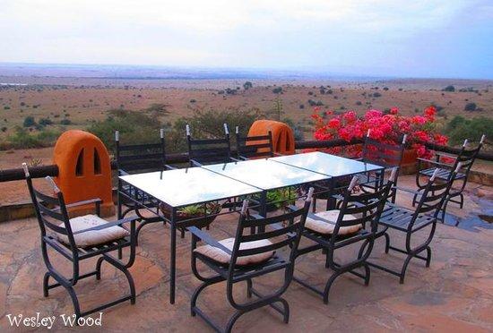 African Heritage House: veranda