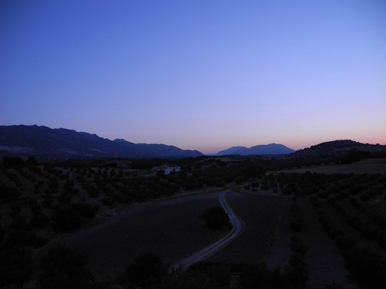 El Geco Verde: sunrise from balcony