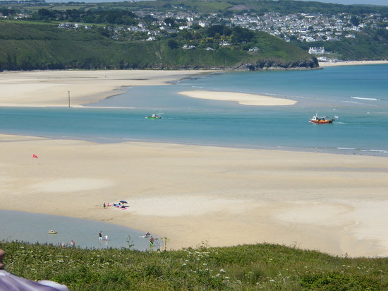 The Penellen Hotel: Stunning Views of the Beach from The Penellen, St Ives Bay