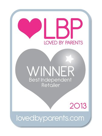 Serenity Loves: Silver Award for 'Best Independent Retailer' by Loved by Parents.