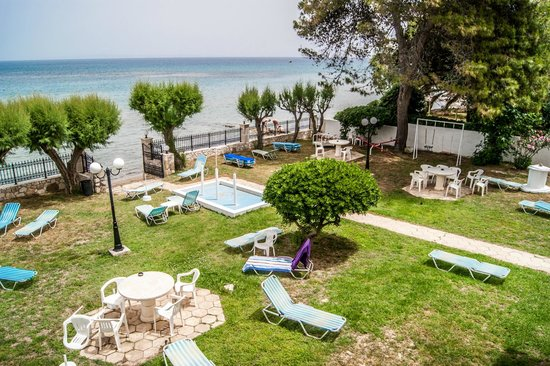 Room balcony with sea view picture of iliessa beach for The balcony zante