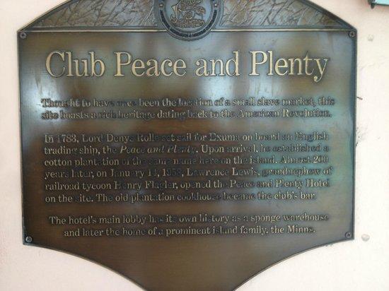 Club Peace and Plenty