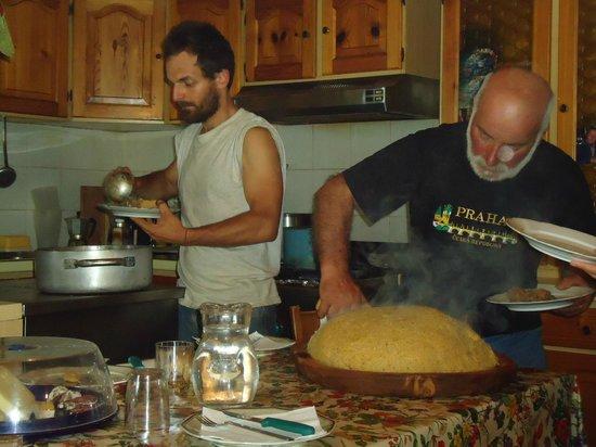 Agriturismo Stella Orobica : Vincenzo e Flavio in cucina