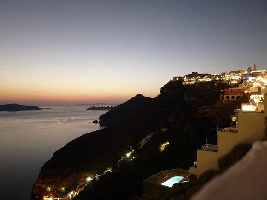 Caldera Studios: View at night