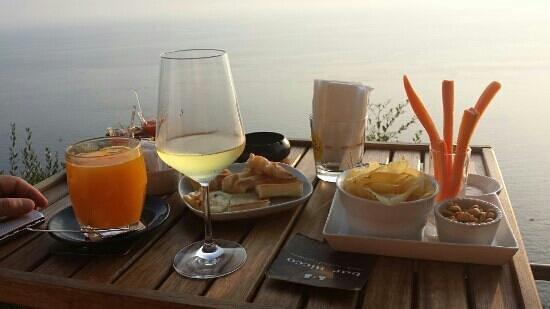 Bar Dai Muagetti: tramonto
