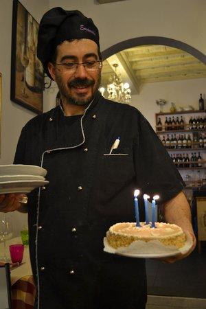 La Vinaina Firenze: ecco lo chef!