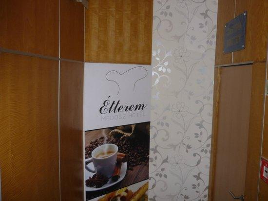 Medosz Hotel: Restaurant