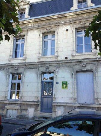 La Fleur de Lys : Vue de la façade de la maison.