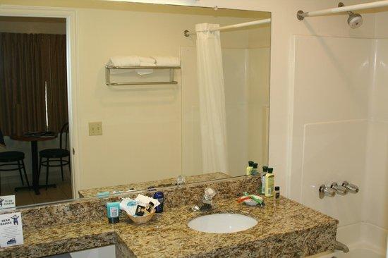 Travelodge Santa Monica: Bathroom