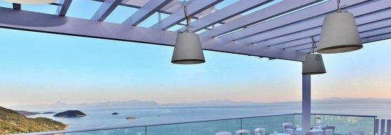 Agnanti Restaurant: Agnanti Upper Floor & View